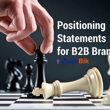 Positioning statement of B2B brands and products